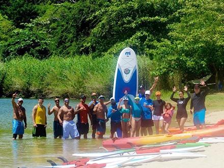 $29 por Tour de 2 horas en Paddleboard a través del Río Guajataca + Equipo + Clase + Agua + Snacks