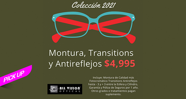 All Vision Optical - Pick up sin contacto