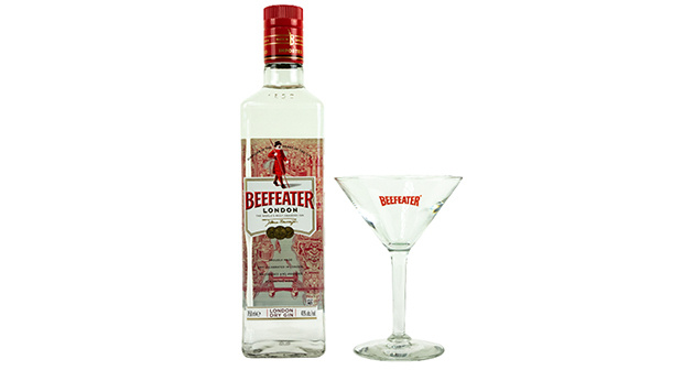 Beefeater London Dry Gin + Copa de cristal