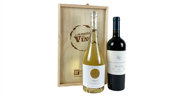 Pago de los Capellanes: vinos blanco y tinto