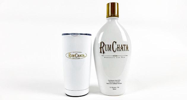 Rum Chata más vaso insulado