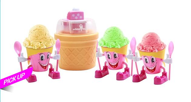Maquina de helado - Pick up sin contacto