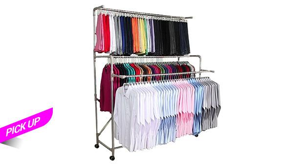 Organizador de ropa - Pick up sin contacto