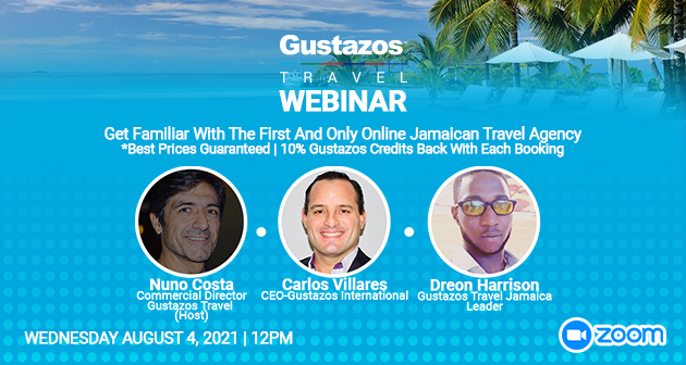 Gustazos Travel Jamaica Webinar
