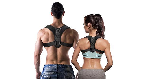 Corrector de postura ajustable