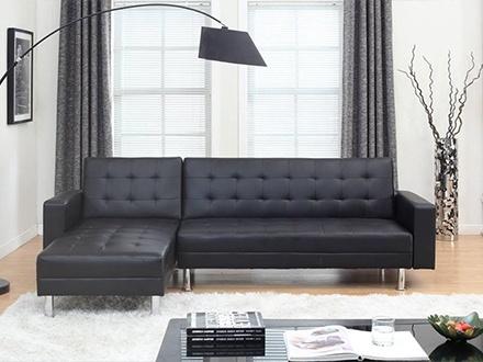 ¡Decora tu hogar! RD$14,950 por Sofá cama multifuncional, disponible en marrón o negro