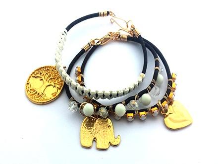 ¡La artesanía más preciosa del Caribe! Desde US$8 por Piezas únicas elaboradas con perlas cultivadas de Isla Margarita, turquesas y cristales preciosos