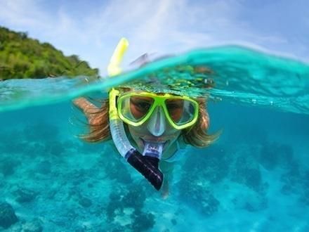 ¡Aventura en Culebra! $59 por Pasadía para 1 persona, que incluye: Snorkeling + Meriendas + Refrigerios + Almuerzo ligero