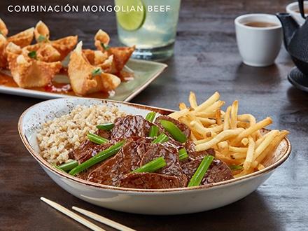 ¡Menú exclusivo para Gustazos! Obtén tu Gustazo™ GRATIS y paga de $8.49 a $11.99 en el restaurante por una de las Nuevas Combinaciones P.F. Chang's. Recibe tus platos favoritos de P.F. Chang's + 1 Complemento de arroz (arroz frito con vegetales sin costo adicional) + 1 Orden de Tostones o Papas fritas (Ver detalles completos del menú en La Experiencia)