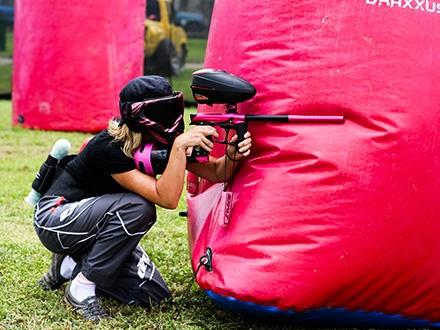 ¡Un Gustazo extremo y divertido! $15 por Juego de Paintball que incluye: Equipo Completo + Gas Ilimitado + Máscara + Chaleco Protector + 200 Bolas de pintura