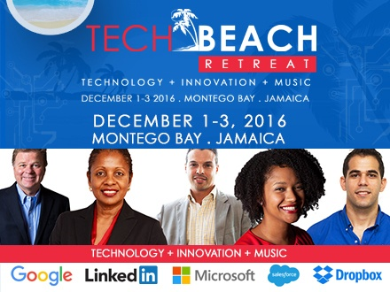 US$399 for 1 Boleto 'todo incluido' para la conferencia de fin de semana Tech Beach Retreat (Entrepreneurship + Technology + Innovation); del 1 al 3 de diciembre de 2016