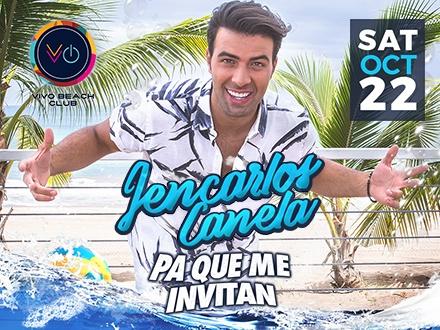 """$50 por 1 Boleto VIP para el concierto de Jencarlos Canela """"Pa que me Invitan""""el sábado, 22 de OCTUBRE de 2016; Incluye: Entrada Fast-Pass + Área preferencial"""