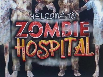 ¡Vive la experiencia aterradora de estar en un hospital lleno de zombies! $30 por 4 Entradas para el Zombie Hospital, a escoger entre el 20, 21 o 23 de octubre de 2016