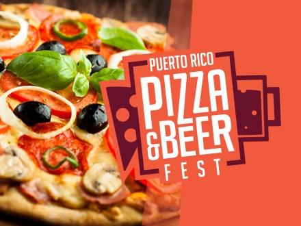 $39 por 1 Boleto VIP para el Puerto Rico Pizza & Beer Fest, el sábado, 10 de junio de 2017, incluye: Entrada media hora antes con fila expreso + Degustación de pizzas y cervezas incluida + Gorra y T-shirt oficial del evento