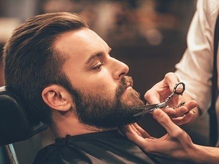 ¡Luce guapo y elegante! $8 por Recorte completo de varón que incluye: Cabello, barba y cejas + 50% de Descuento en el primer mes de la membresía y matrícula GRATIS