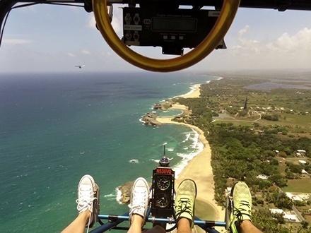 ¡Explora desde lo más alto! $65 por Vuelo de introducción en Ultraligero de descubrimiento en el área norte de Puerto Rico