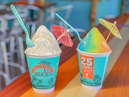 ¡El único en Puerto Rico que te hará sentir como en el Polo Norte! $6 por 2 'Snow Cones' de 12oz a escoger entre más de 100 sabores + Guerra de nieve con bolas de nieve incluidas + 10 Bolas de nieve GRATIS en tu segunda visita al hacer tu compra