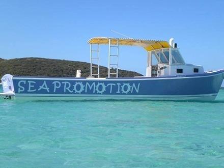 ¡Organiza tu grupo de 6 personas y disfruta un pasadía rodeado de mar! $59 por Excursión en bote hacia la isla Icacos para 1 persona + Botellas de agua ilimitadas + Uso de kayaks y equipo de snorkeling
