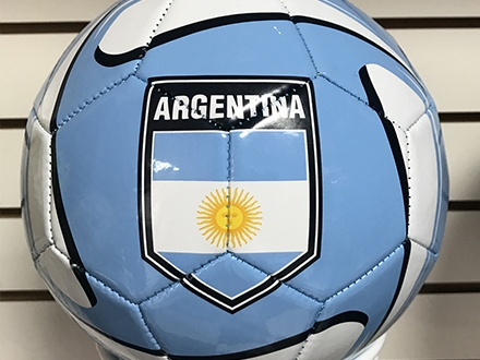 $9 por Balón de fútbol (tamaño 5) de Argentina, Brasil, Colombia o México + 20% de Descuento en la segunda compra de mercancía Luanvi