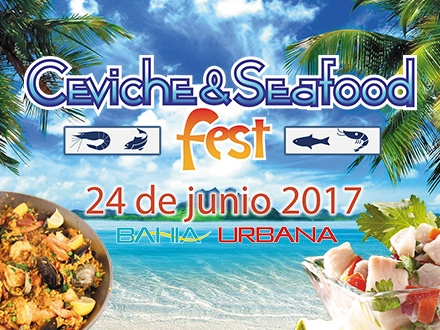 $15 por 2 Boletos 'Fast Pass' para el Ceviche & Seafood Fest el SÁBADO, 24 de junio, con la participación de: Rare 125, Inkanto, Ceviche Incaínos, Ceviche House, Mistura Bistro Bar, Costa Restaurante, El Nie, Paladar y Fusión, Ceviche Totti, LM Seafood y Willies Paella + Music by King Chinchillo, Ivan Robles, Audio Alterna, Martin Vaello y Peor es Na'