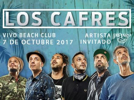 $60 por 1 Entrada VIP para el concierto de LOS CAFRES el sábado, 7 de OCTUBRE de 2017, Artista invitado Piélago; Incluye: Entrada 'Fast Pass' + Acceso exclusivo al 2do nivel + Barra y baños privados