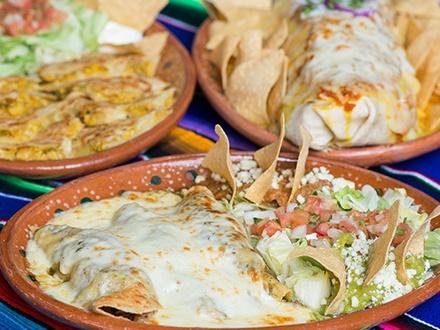 ¡De los creadores de Don Pepe! $29 por 2 Platos principales a elegir entre: Orden de fajitas de churrasco, pollo, o El Trio (churrasco, camarones y pollo); Burrito Dos Panza con pollo, carnitas, churrasco y camarones; Carnitas al plato o Quesadilla de pollo, churrasco, cerdo o carnitas + 2 Margaritas a elegir entre: Clásica, Ginger Passion, Fresh Mango Basil o Cucumber Orange
