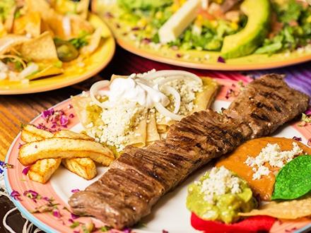 ¡Delicioso sabor mexicano! $19 por Gustazo de $40 en consumo del menú abierto