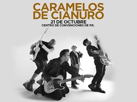¡Regresan a Puerto Rico a celebrar sus 25 años! $60 por 1 Entrada VIP para el concierto el sábado, 21 de octubre, incluyendo: Fast Pass + Área de vista preferencial + Barra privada + Banda conmemorativa
