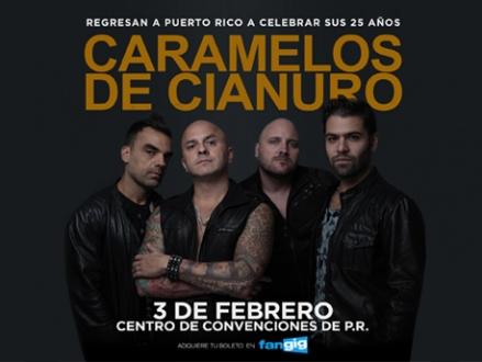 Caramelos de Cianuro - Centro de Convenciones de Puerto Rico, San Juan