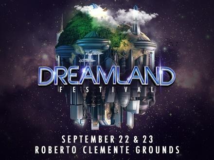 $30 por 2 Boletos GENERALES para el Dreamland Festival, ESTE VIERNES, 22 de septiembre de 2017