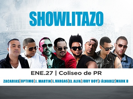 Showlitazo - Coliseo de Puerto Rico, José Miguel Agrelot
