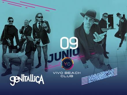 Los Amigos Invisibles & Genitallica - VIVO Beach Club, Isla Verde