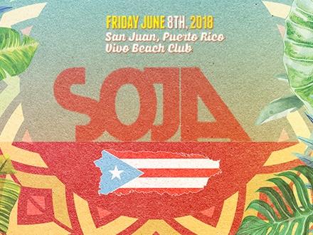 SOJA - VIVO Beach Club, Isla Verde