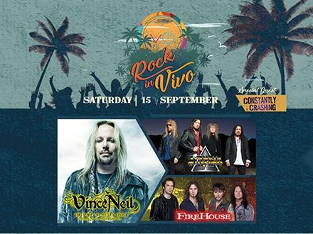 Rock in VIVO - VIVO Beach Club, Isla Verde