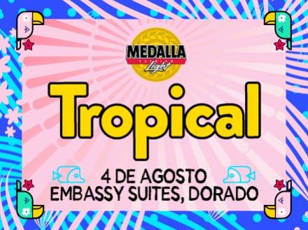 Medalla Light Tropical - Embassy Suites by Hilton Dorado del Mar Beach Resort