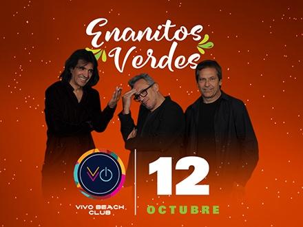"ENANITOS VERDES ""Tequila La Gira 2018"" - Vivo Beach Club, Isla Verde"