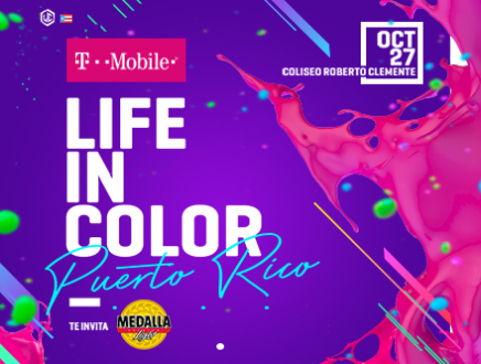 T-Mobile Life in Color Puerto Rico - Coliseo Roberto Clemente, SJ