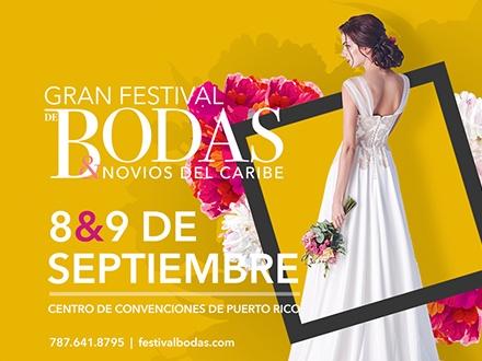 Gran Festival de Bodas y Novios del Caribe - Centro de Convenciones de Puerto Rico