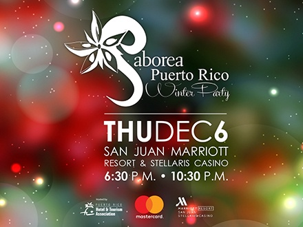 Saborea Puerto Rico Winter Party - San Juan Marriott Resort, Condado