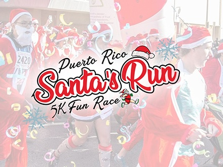 Santa's Run 5K - Parque del Tercer Milenio, San Juan