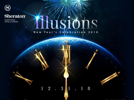 Illusions New Year's Eve Party - Sheraton Puerto Rico Hotel & Casino, Distrito de Convenciones