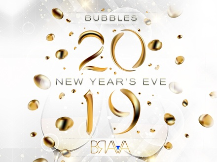 Bubbles NYE 2019 - Club Brava, Hotel San Juan