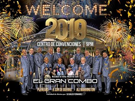 ¡Welcome 2019 junto a El Gran Combo de Puerto Rico! - Centro de Convenciones de Puerto Rico, San Juan