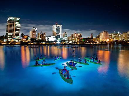 Night Kayak - San Juan
