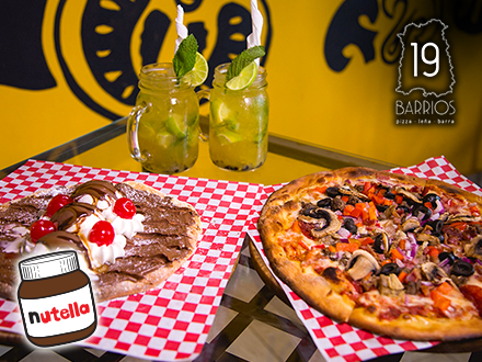 19 Barrios Pizza - Ponce