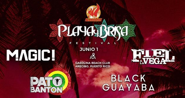 Playa y Brisa Festival - Playa Las Criollas, Barceloneta
