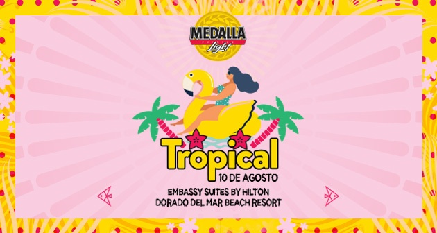 Medalla Light Tropical - Embassy Suites by Hilton Dorado del Mar Beach Resort