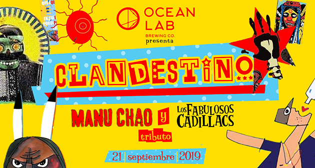 CLANDESTINO Tributo a Manu Chao y Los Fabulosos Cadillacs - Vivo Beach Club