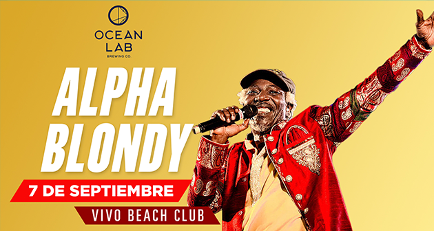 Alpha Blondy - Vivo Beach Club
