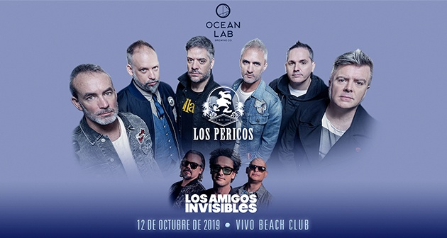 Los Pericos y Los Amigos Invisibles - Vivo Beach Club